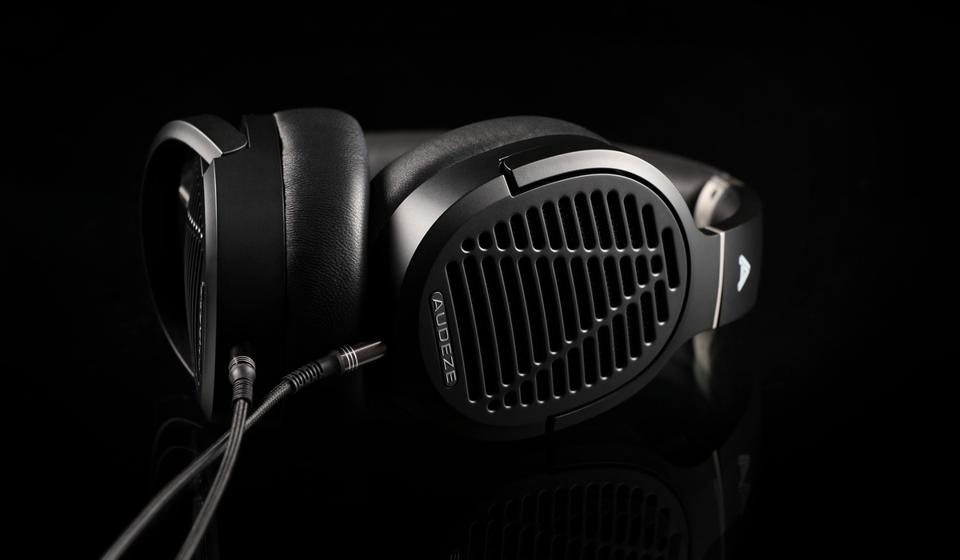 Audeze LCD-1 on a black background