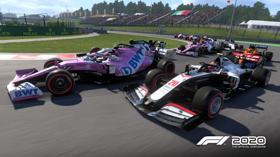 F1 2020 xbox ps4 screenshot