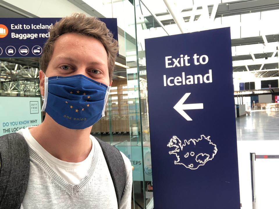coronavirus COVID-19 Iceland immigration travel restrictions testing tourism travel