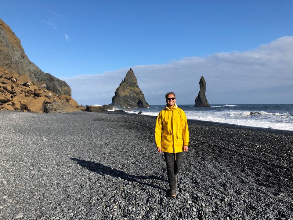 coronavirus COVID-19 travel tourism Iceland beach volcanic