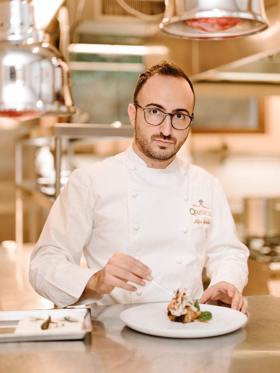 Alfio Nicolosi - Chef at Restaurant Quercus