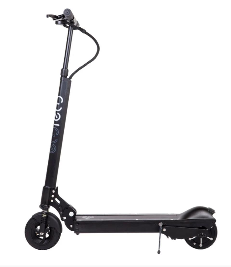 This is one powerful electric scooter.