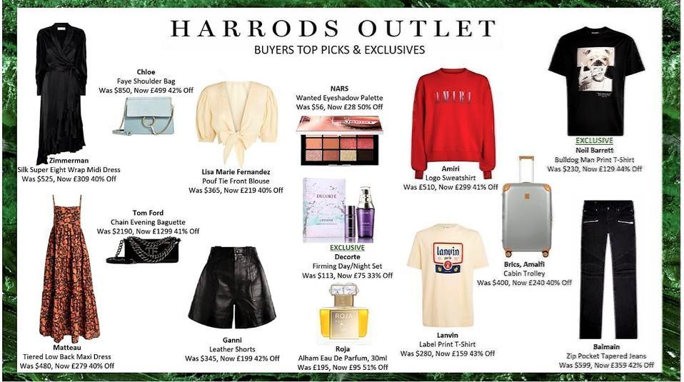 Harrods Outlet deals