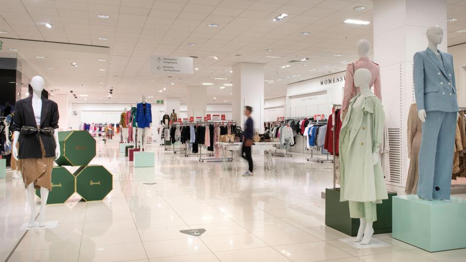 Harrods outlet - womenswear floor