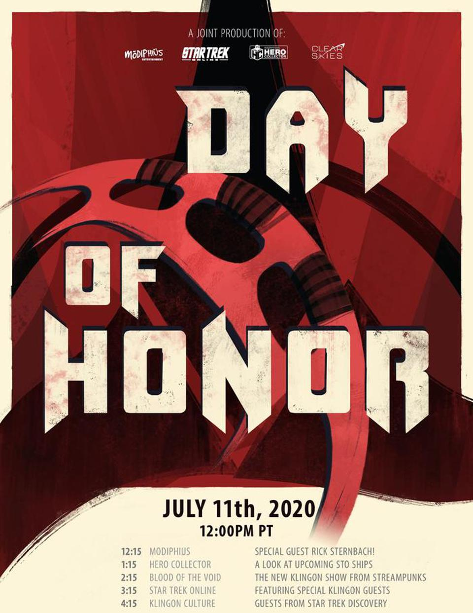 Day of Honor poster