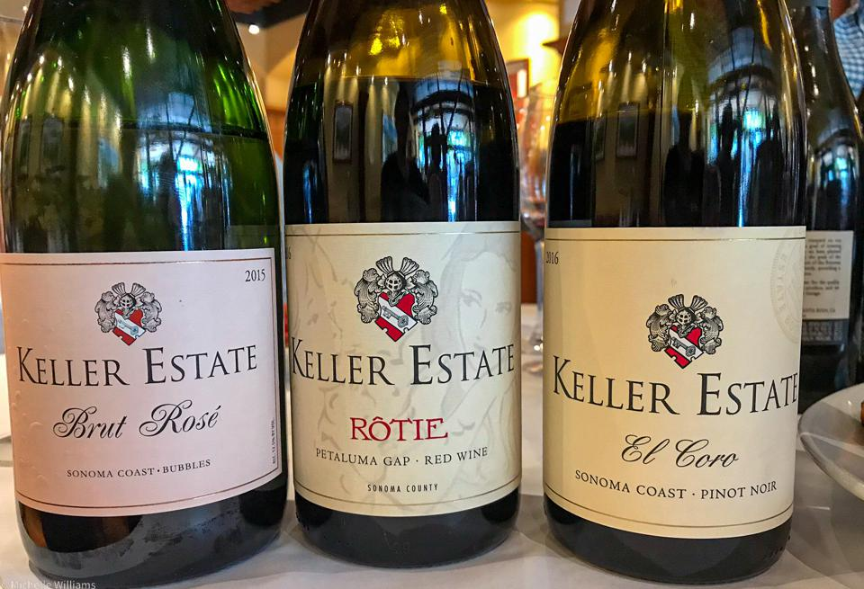 Some of the wines of the Keller Estate portfolio