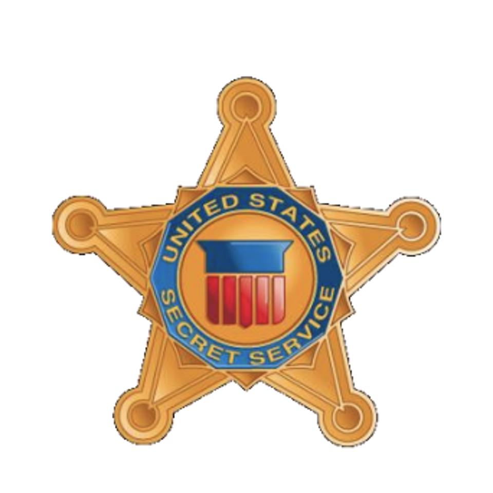 Official United States Secret Service badge