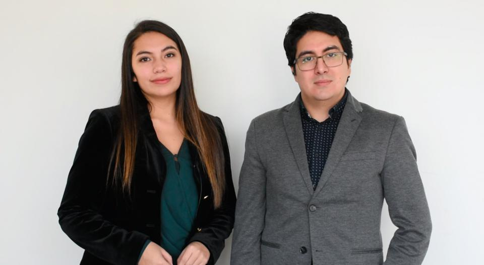 Francia Navarrete and Leonardo Álvarez