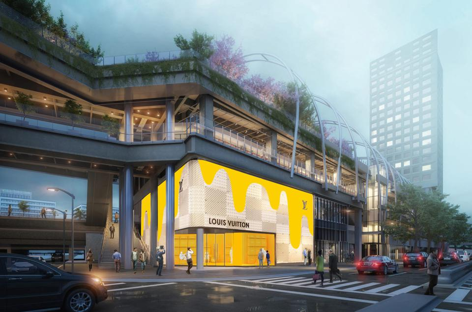 Louis Vuitton opens first-ever men's standalone store at Shibuya, Tokyo