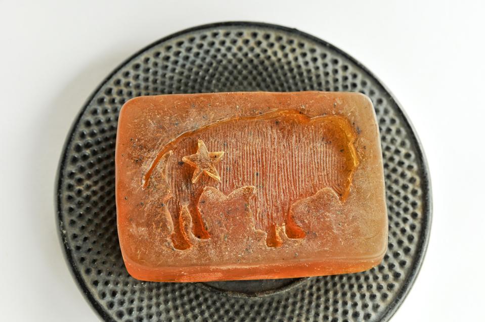 Bison Star Natural's Red Lavender Bar Soap