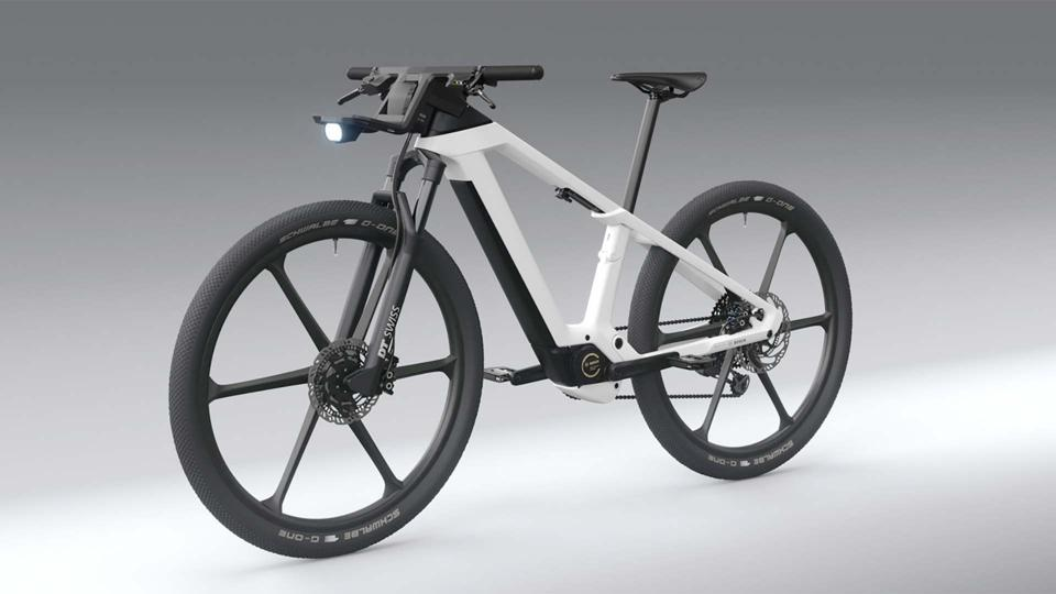 An official image of the eBike Design Vision e-bike prototype.