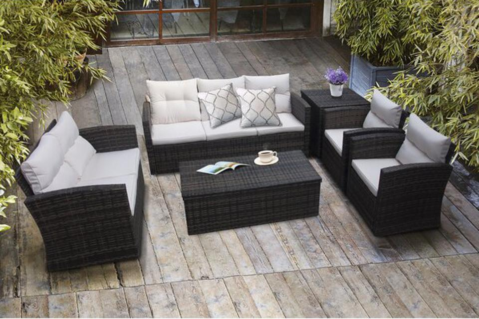 Sol 72 Outdoor 6 Piece Sofa Seating Group with Cushions
