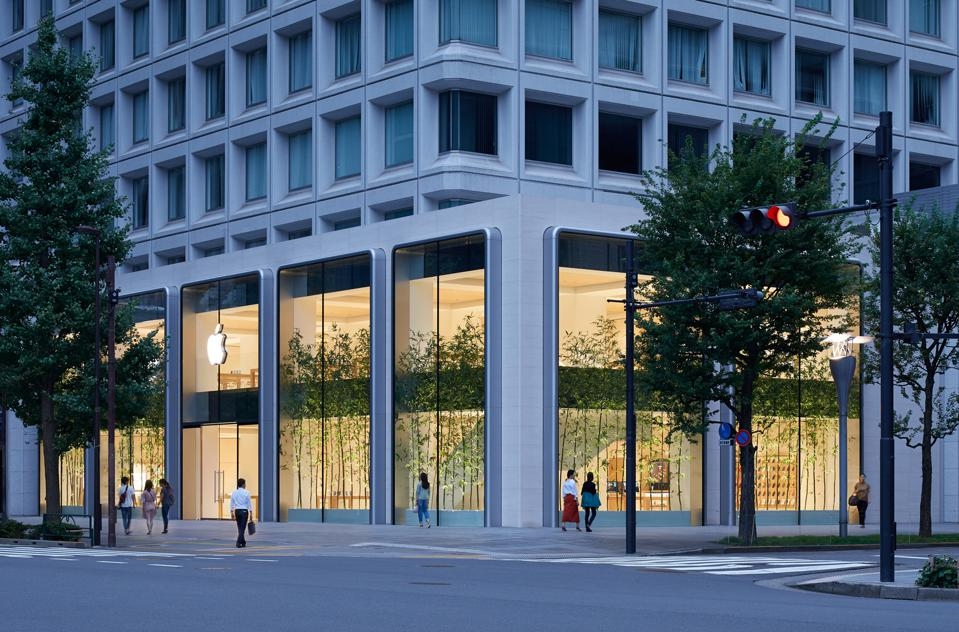 Apple's opened its third and largest store in Japan as part of its multi-year retail investment and expansion in the country.