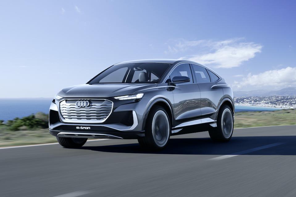 Audi Q4 Sportback e-tron concept for 2021