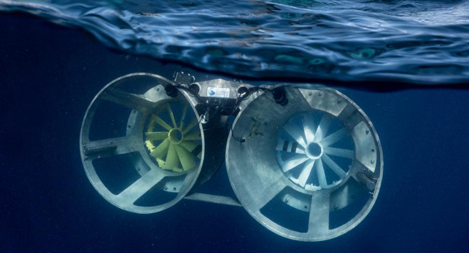 The tests were undertaken 20 miles off the Florida coast, submerged 80 feet below water