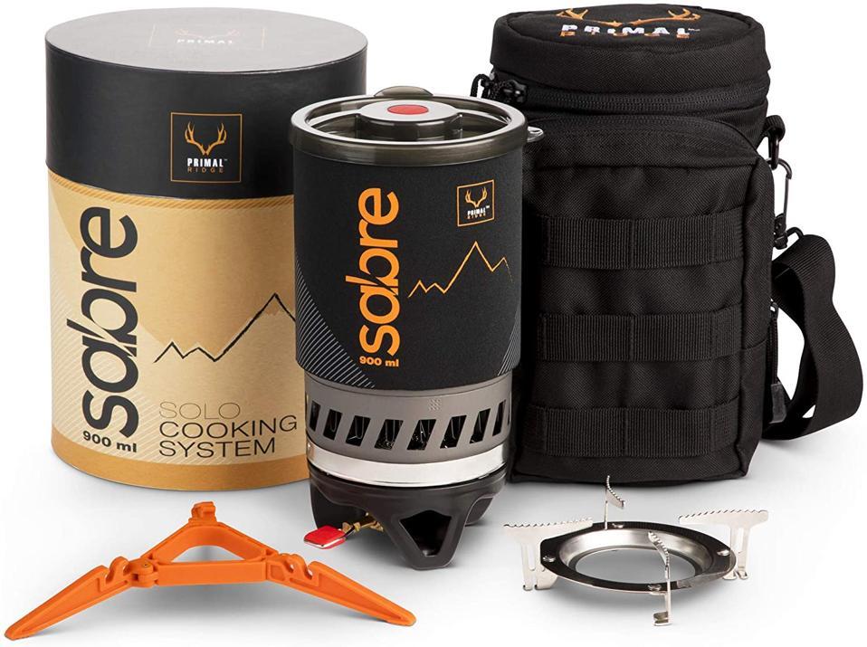 Primal Ridge Portable Gas Backpacking Stove