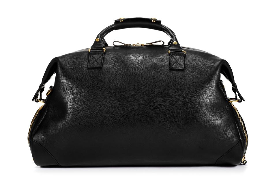 Leather Weekender Bag by Bennett Winch: