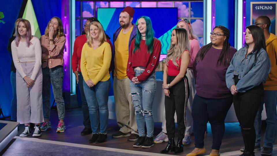 Contestants in The Sims Spark'd reality competition on TBS