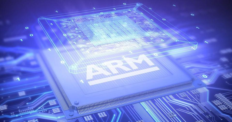 Arm processor with silicon overlay