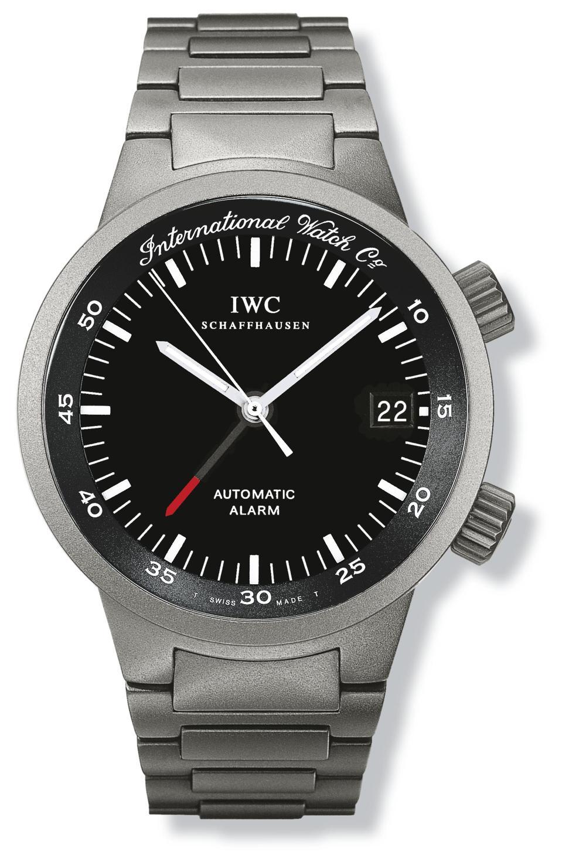 IWC GST Automatic alarm watch