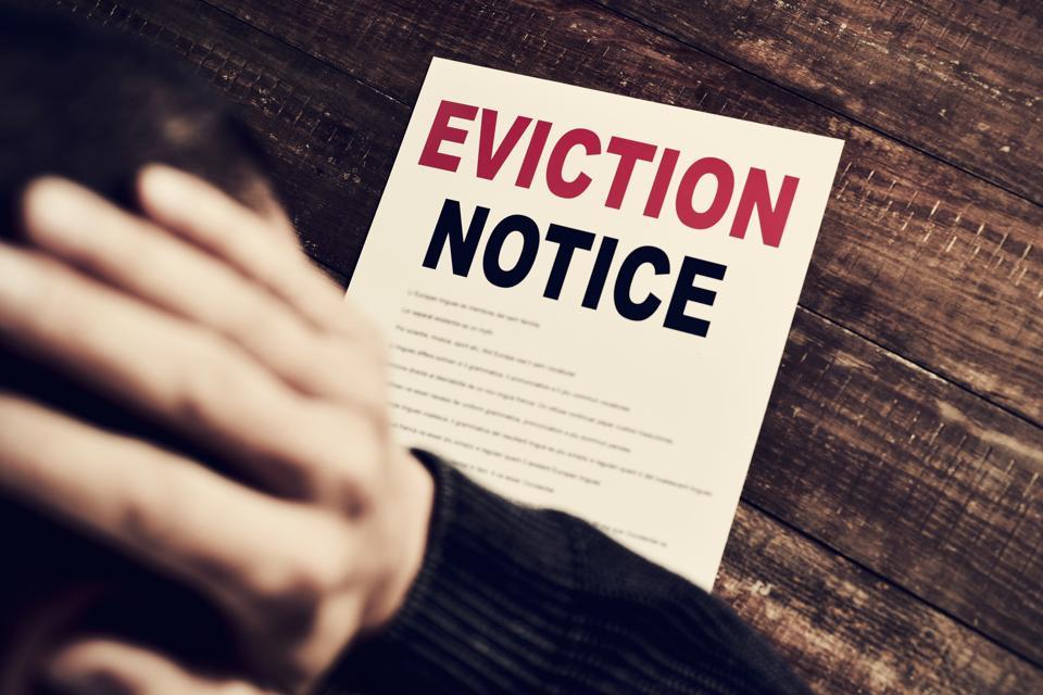 eviction notice real estate coronavirus