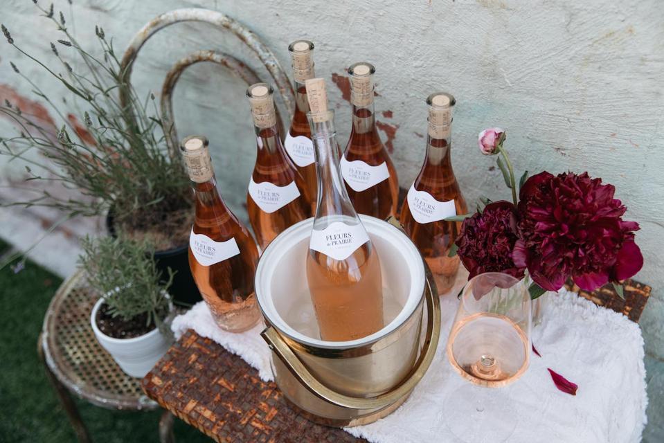 Fleurs de Prairie bottles, styled by Grace Atwood