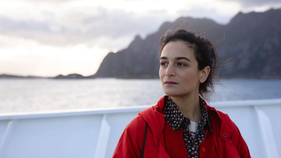 Actress Jenny Slate in a still from The Sunlit Night.