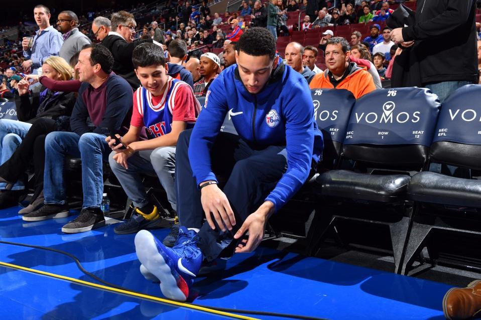 Philadelphia 76ers player Ben Simmons