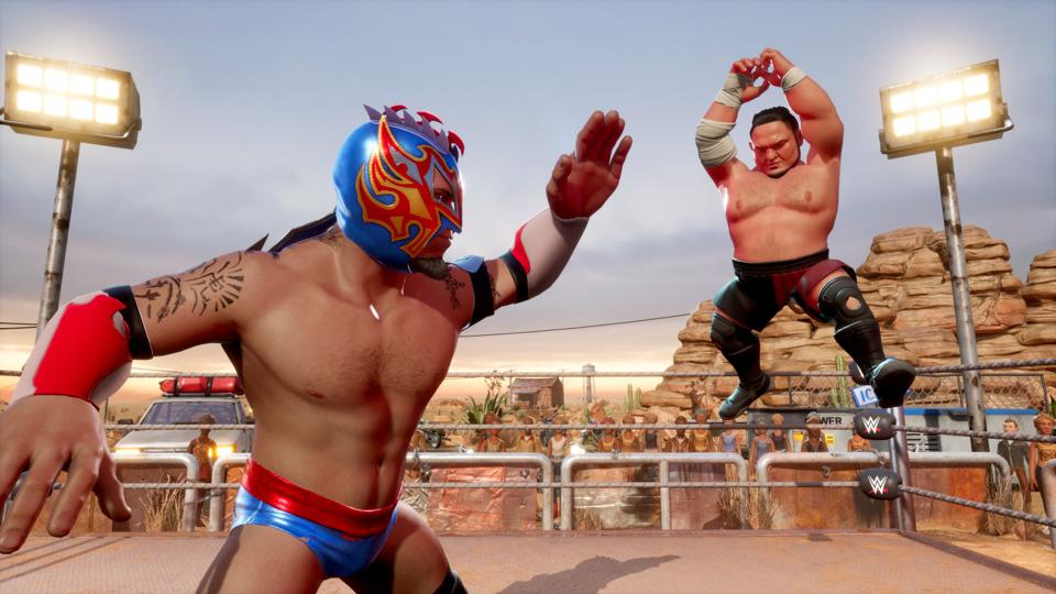 Wwe 2k Battlegrounds Release Date Roster Info Game Modes Pre Order Info And More