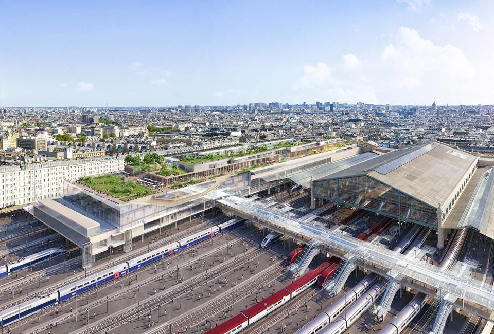Paris' Gare du Nord following its planned renovation.