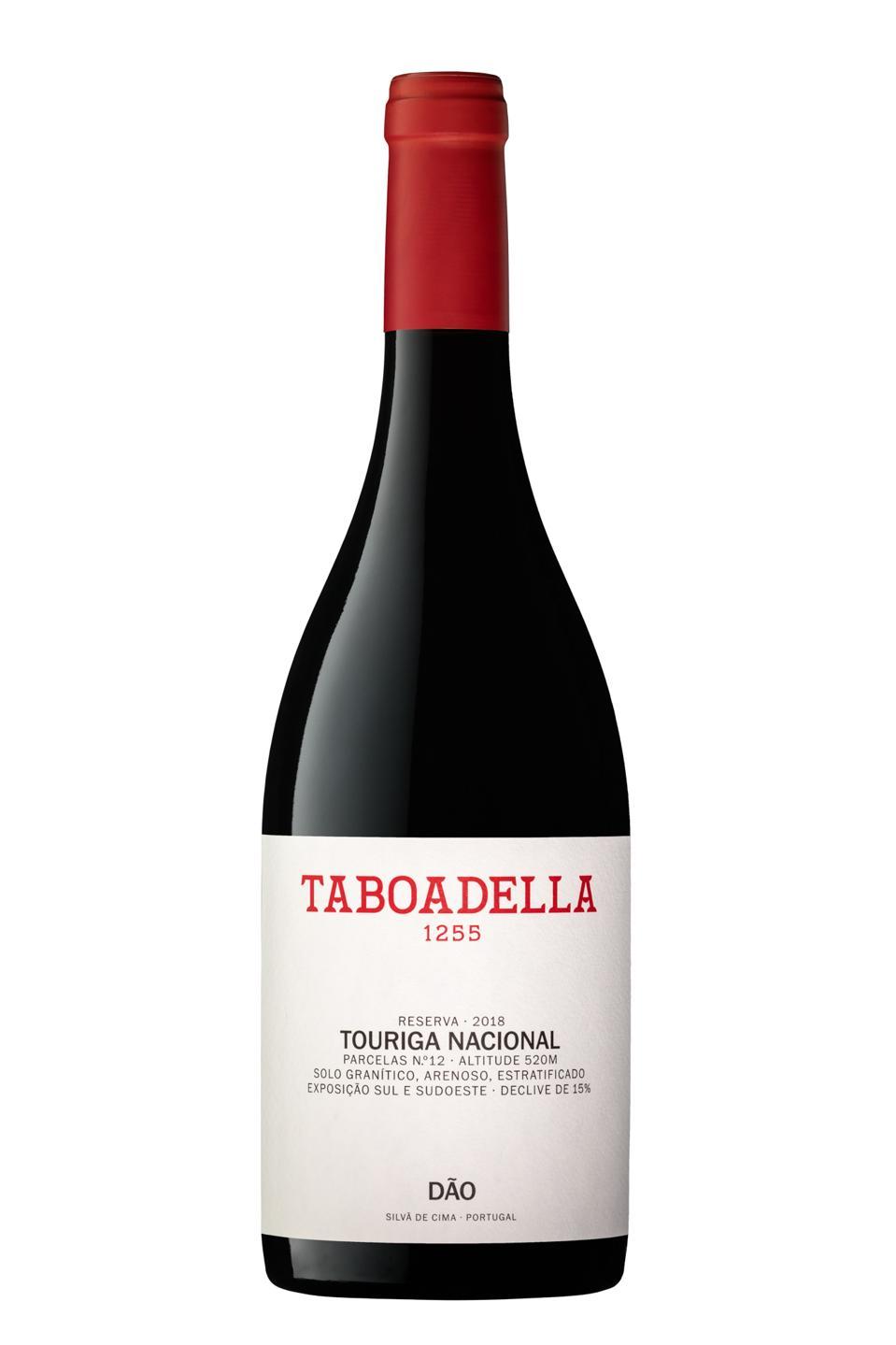 Taboadella Touriga Nacional wine