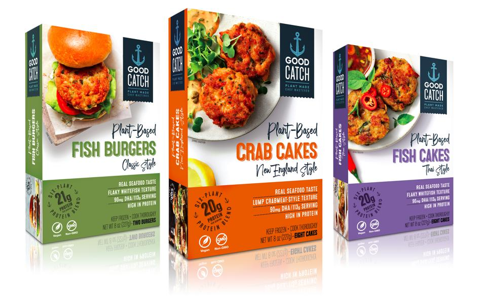 Good Catch is growing its plant-based seafood line with the its first frozen line.