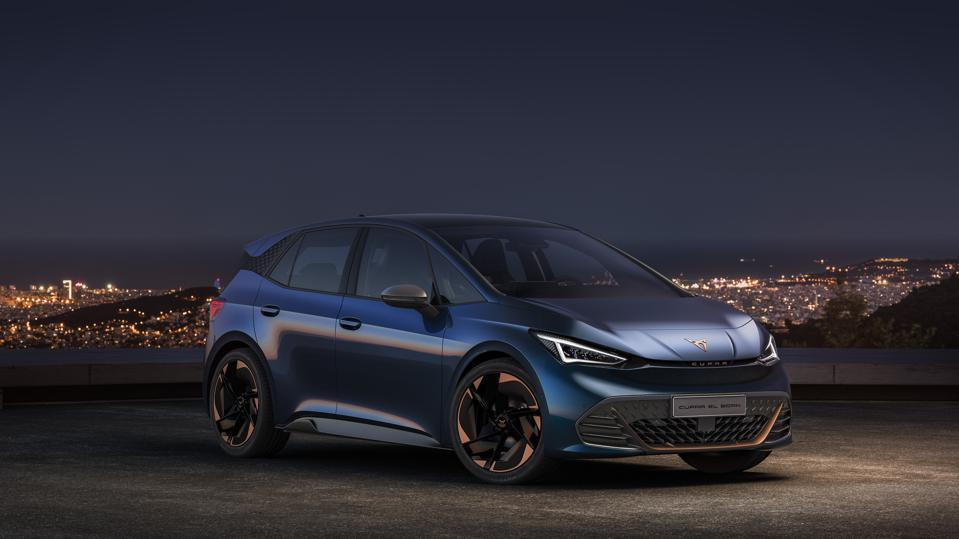 The 310-mile Cupra el-Born EV will launch next year, riding Volkswagen's ID.3 platform.