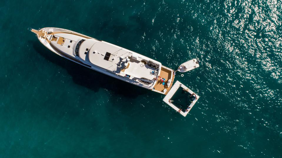 Northern Dream yacht in Los Cabos with water toys