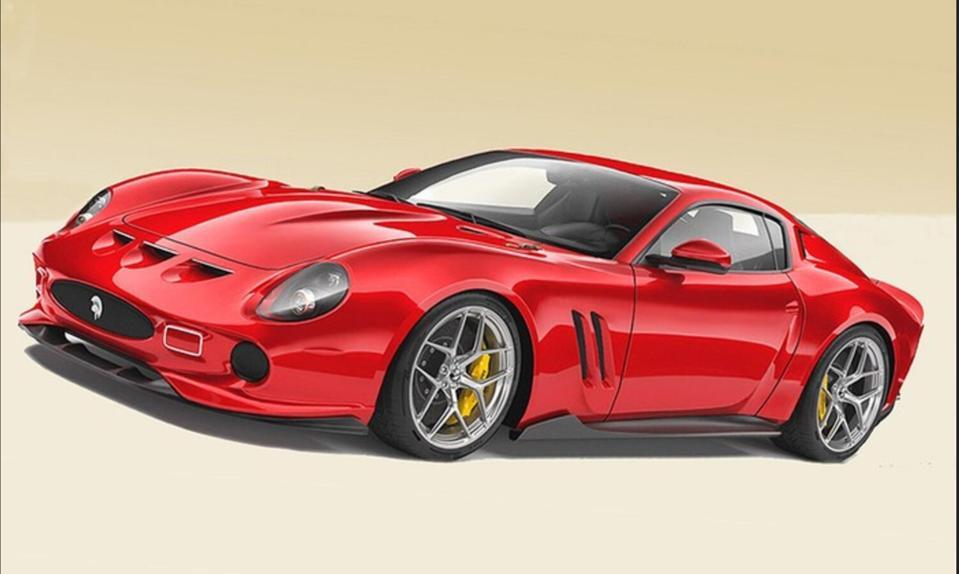 The Ares Design ″reinterpretation″ of the 250 GTO has won over Ferrari in court.