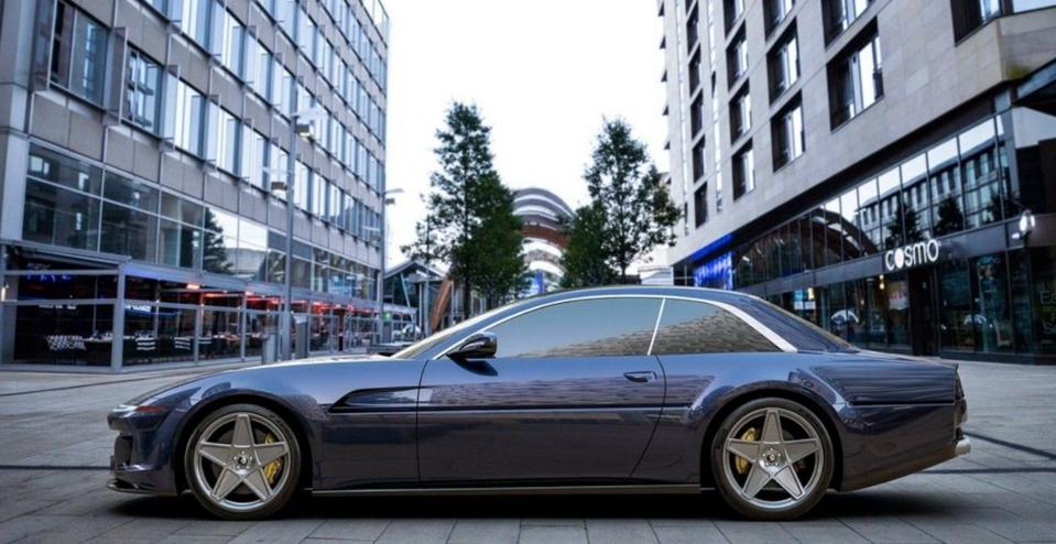 Ares Design also paid homage to the Ferrari 412 with this design.