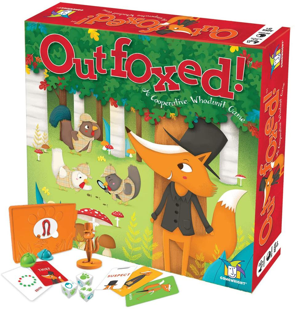 Outfoxed board game.