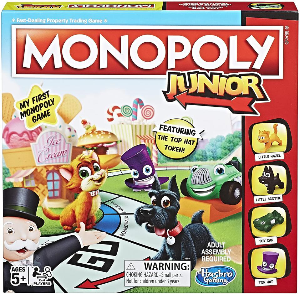 Monopoly Jr. board game