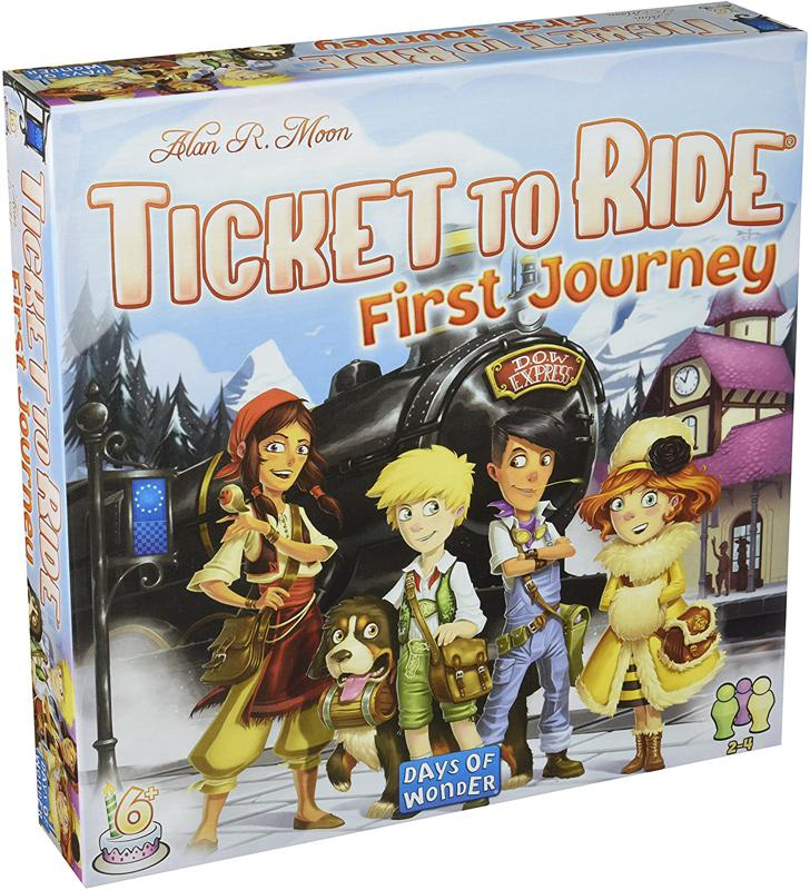 Ticket to Ride board game.