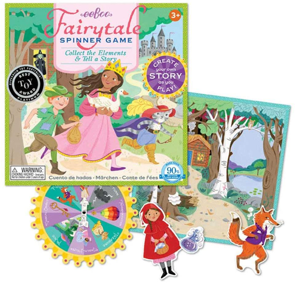 Fairy Tale Spinner board game