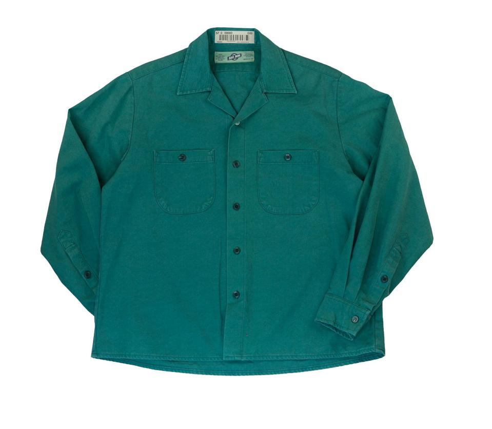 Jade work shirt is a classic piece with vintage quality.