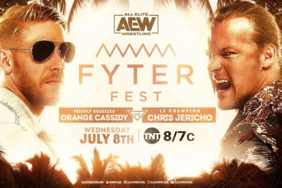 AEW Fyter Fest Night 2 will feature Chris Jericho vs. Orange Cassidy.