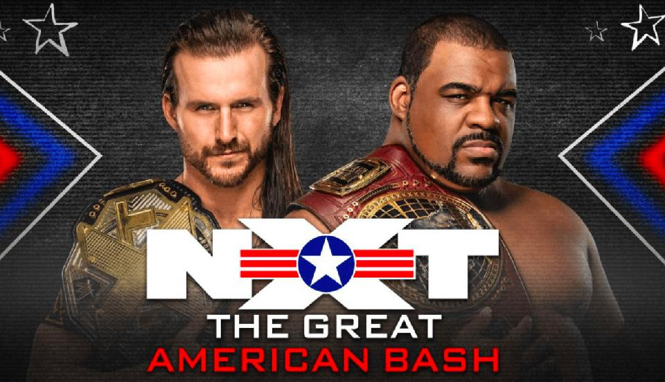 Adam Cole and Keith Lee, Title for Title, headlined WWE NXT Great American Bash.