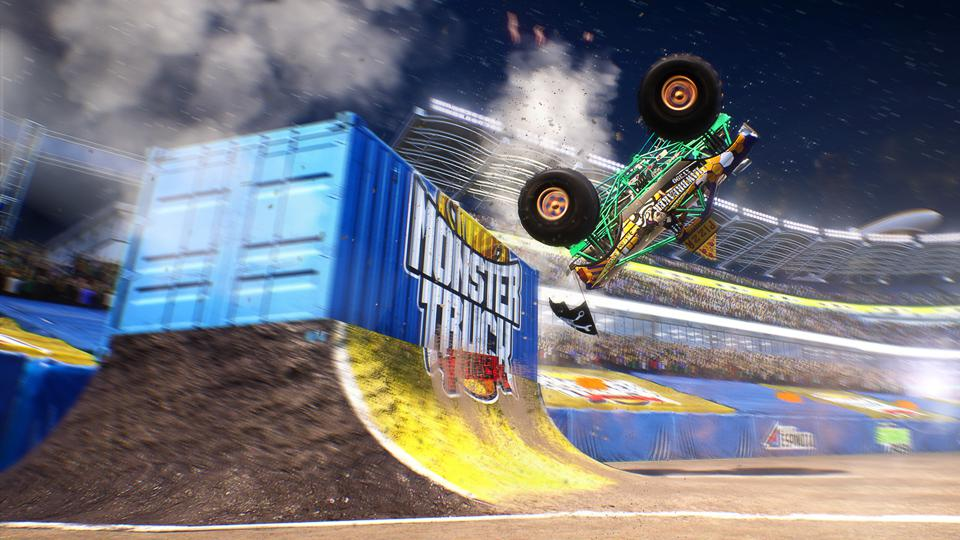 Nacon Monster Truck Championship freestyle event