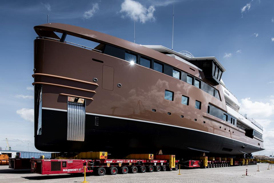 Damen Yachting SeaXplorer 77 LA DATCHA ready for launch