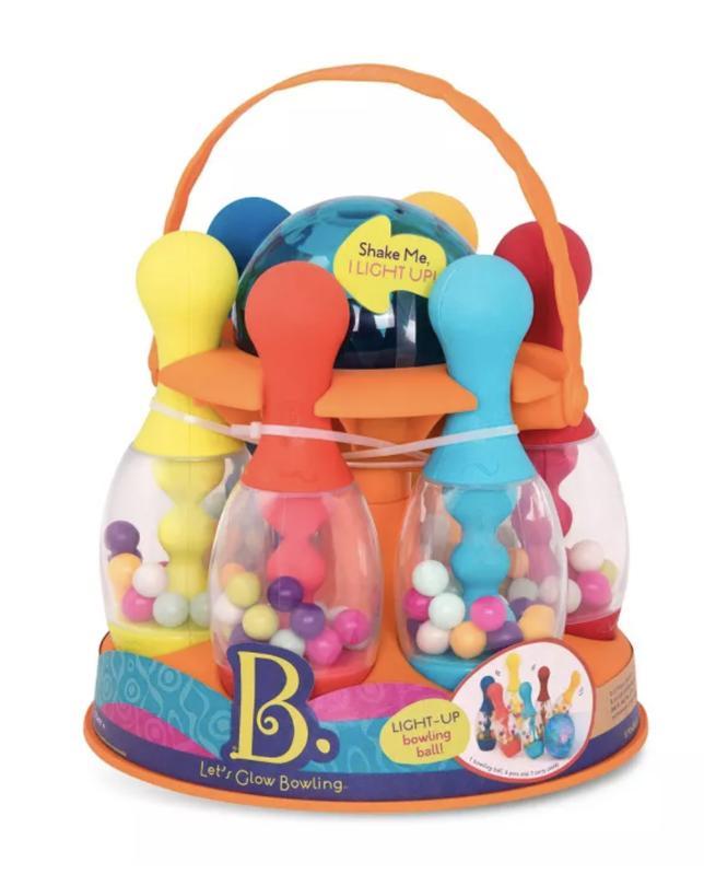 B. Toys Kids Bowling Set - Let's Glow Bowling