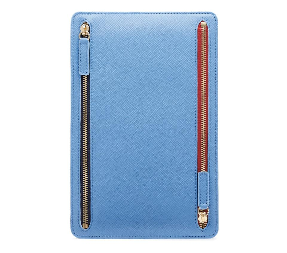 Panama Zip Currency Case by Smythson