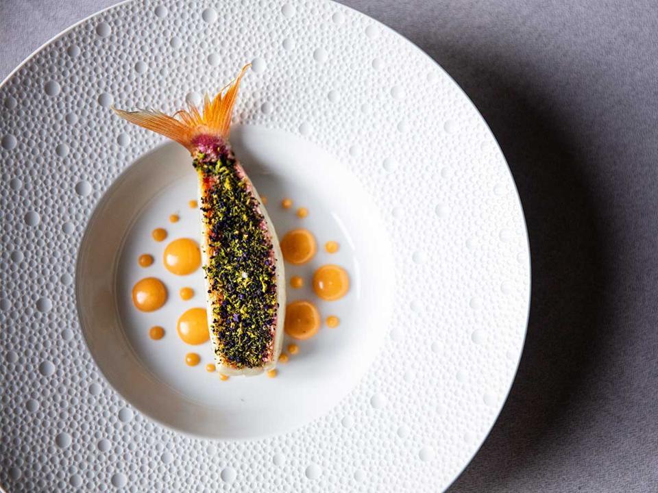 Triglio - Dish from Villa Crespi