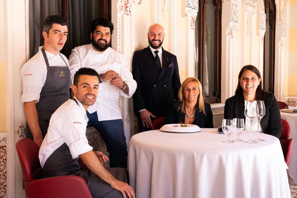 The Team at Villa Crespi