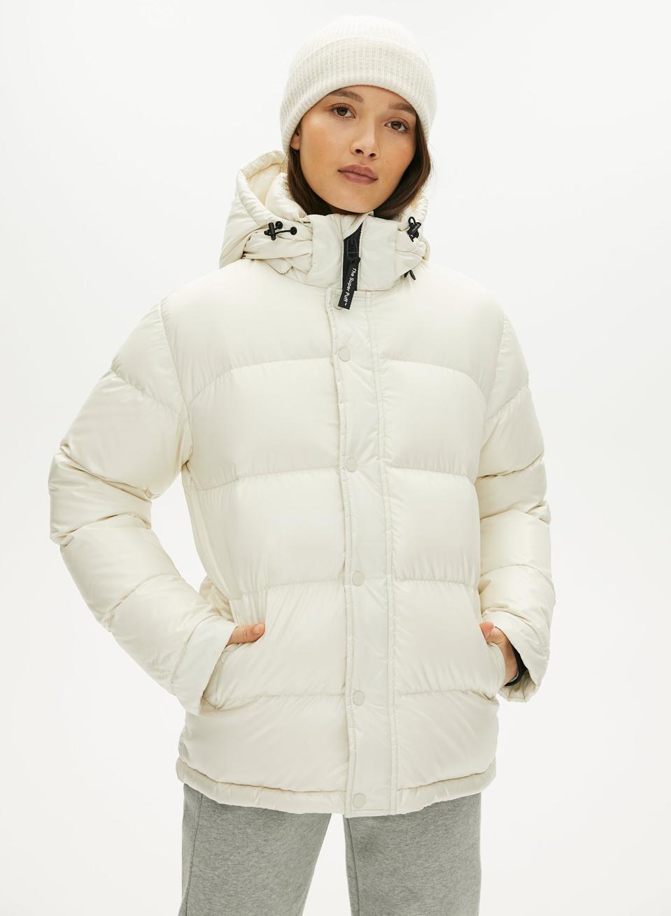 Aritzia's Super Puff coat.